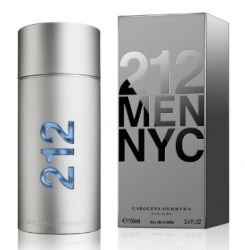 Concorrente do importado CAROLINA HERRERA - 212 MEN